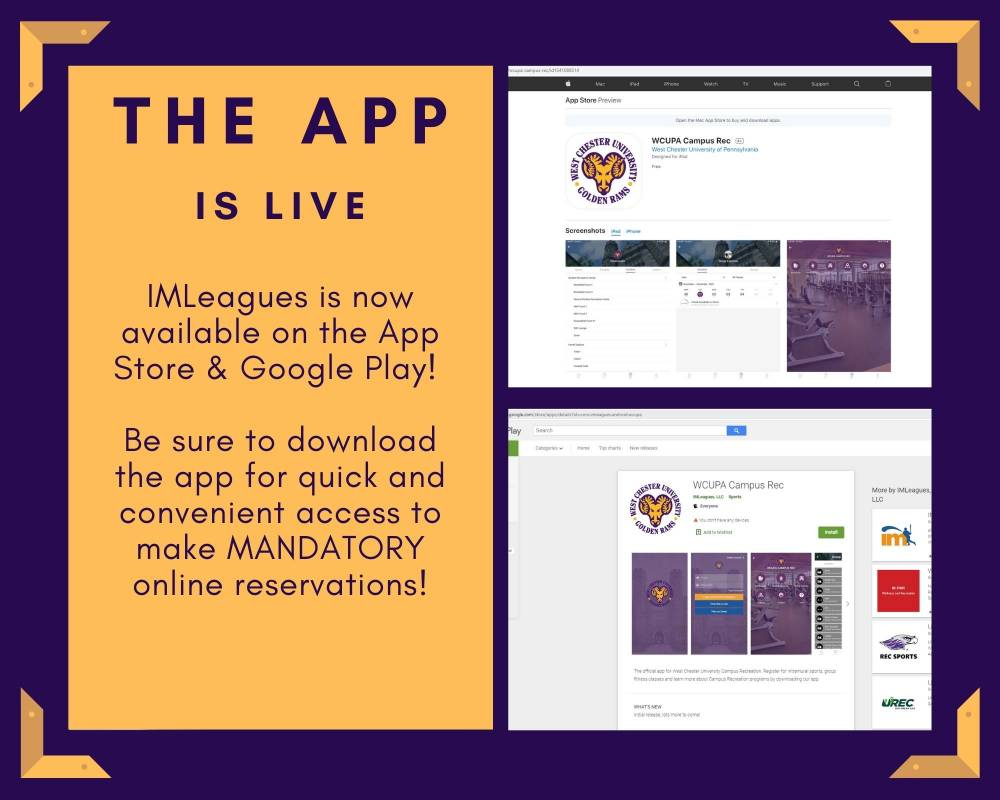 The APP is Live - Download the app for quick and conveinent mandatory online reservations