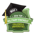 23rd Best College for Veterans by U.S. News Best Colleges