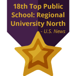 17th Top Public School: Regional University North by U.S. News Best Colleges