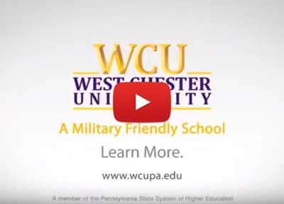 """Click to Play the WCU Military Friendly Video"""